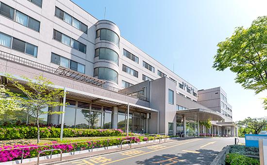 写真: 笠岡第一病院外観