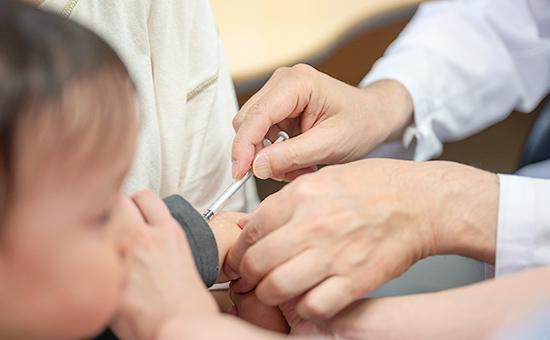写真: 予防接種のイメージ